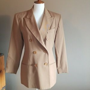 GEORGES MARCIANO DOUBLE BREASTED BLAZER
